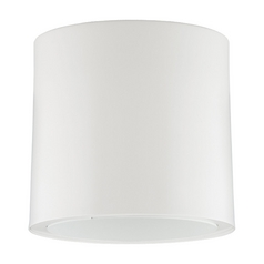 Progress Lighting Modern Close To Ceiling Light in White Finish P6006-28
