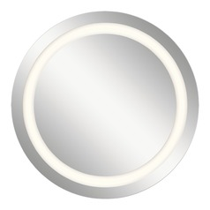 LED Mirrors Round 33.46-Inch Mirror