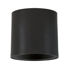 Progress Lighting Modern Close To Ceiling Light in Black Finish P6006-31