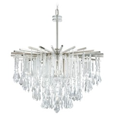 Capital Lighting Carrington Polished Nickel Pendant Light