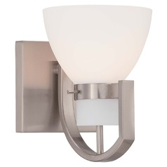 Minka Hudson Bay Brushed Nickel Sconce