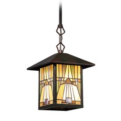 Quoizel Lighting Inglenook Valiant Bronze Mini-Pendant Light