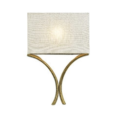 Modern Sconce Wall Light in French Gold Leaf Finish