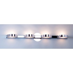 Illuminating Experiences H1436 Satin Chrome Bathroom light