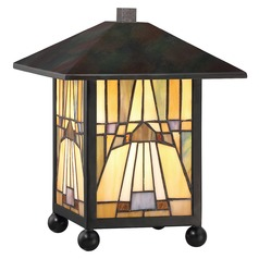 Quoizel Lighting Inglenook Valiant Bronze Table Lamp