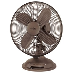 Minka Aire Fans Retro Oil-Rubbed Bronze Desk & Table Fan