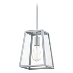 Design Classics Rue Silver Outdoor Hanging Light