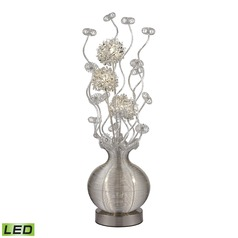 Dimond Lighting Silver LED Table Lamp
