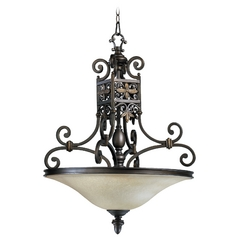 Quorum Lighting Marcela Oiled Bronze Pendant Light