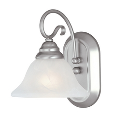 Livex Lighting Coronado Brushed Nickel Sconce