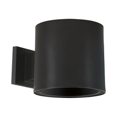 Progress Lighting Modern Outdoor Wall Light in Black Finish P6007-31