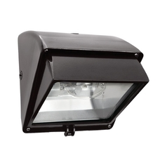 Security Light in Bronze Finish - 100W