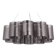 Craftmade Lighting Sircle Black Chrome Chandelier