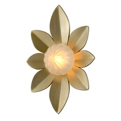 Corbett Lighting Gigi Silver Leaf LED Sconce