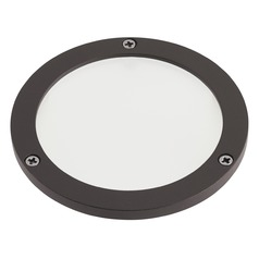 Kichler Lighting Landscape LED Textured Architectural Bronze C-Series Large FRO Lens