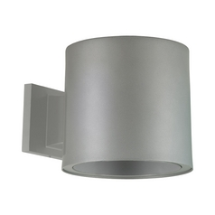 Progress Lighting Modern Outdoor Wall Light in Metallic Gray Finish P6007-82