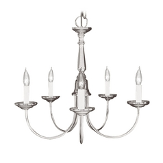 Livex Lighting Brushed Nickel Mini-Chandelier