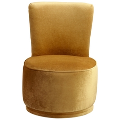 Cyan Design Apostrophe Gold Chair