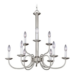 Sea Gull Lighting Holman Brushed Nickel Chandelier