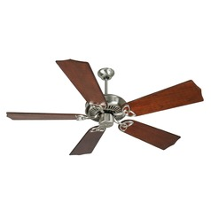 Craftmade Lighting Cxl Stainless Steel Ceiling Fan Without Light