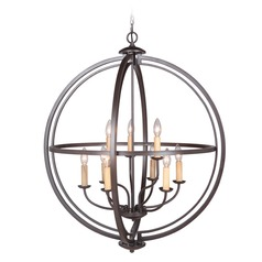 Craftmade Lighting Berkeley Espresso Pendant Light