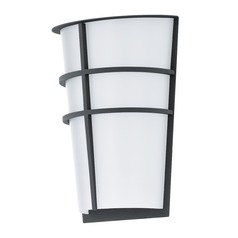 Eglo Breganzo Anthracite LED Outdoor Wall Light