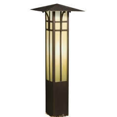Kichler Path Light with White Glass in Olde Bronze Finish