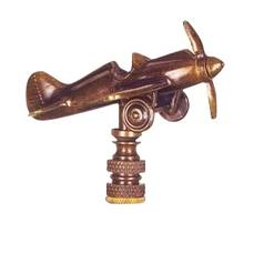 Vintage Airplane Finial