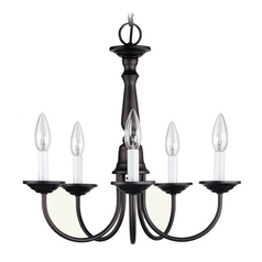 Livex Lighting Bronze Mini-Chandelier
