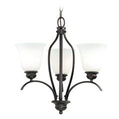 Darby New Bronze Mini-Chandelier by Vaxcel Lighting