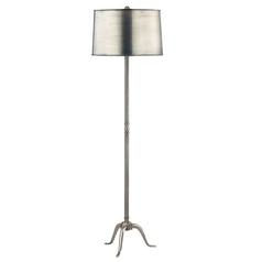 Floor Lamp in Aged Silver Finish
