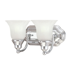 Two-Light Energy Star Qualified Bathroom Light
