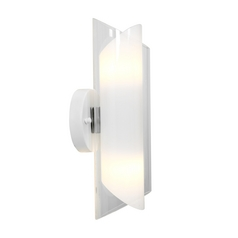 Access Lighting Gyro Brushed Steel Sconce