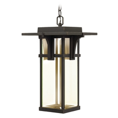 Hinkley Lighting Manhattan Oil Rubbed Bronze LED Outdoor Hanging Light