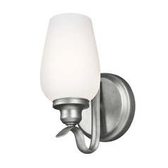 Feiss Lighting Standish Heritage Silver Sconce