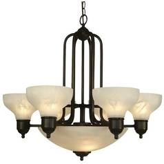 Dolan Designs Nine-Light Chandelier 1330-20