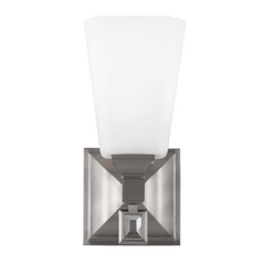 Feiss Lighting Sophie Brushed Steel Sconce