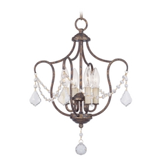 Livex Lighting Chesterfield Venetian Golden Bronze Pendant Light