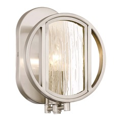 Minka Lavery Via Capri Brushed Nickel Sconce