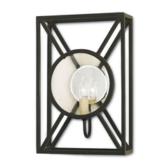 Currey and Company Lighting Old Iron Sconce