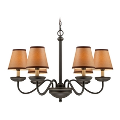 Lite Source Lighting Marysa Dark Bronze Chandelier