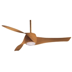 Minka Aire Fans Ceiling Fan with Three Blades and Light Kit F803-MP