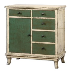 Uttermost Ivorie Distressed Accent Chest