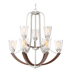 Quoizel Lighting Holbeck Brushed Nickel Chandelier