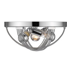 Carter Flush Mount in Chrome