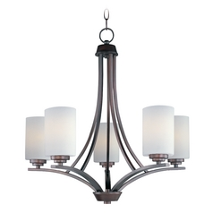 Maxim Lighting Deven Oil Rubbed Bronze Chandelier
