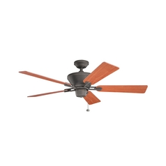 Kichler Lighting Circolo Olde Bronze Ceiling Fan Without Light