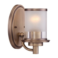 Designers Fountain Essense Old Satin Brass Sconce