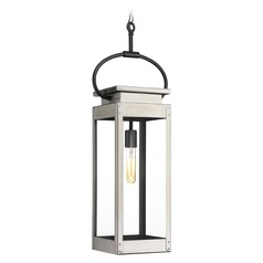 Progress Lighting Union Square Stainless Steel Outdoor Hanging Light