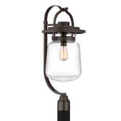 Country / Cottage Post Light Bronze LaSalle by Quoizel Lighting